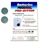 Batteries f. Pro-Dytter/ Pro-Track